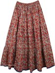 Peppy Tabasco Ethnic Summer Long Skirt