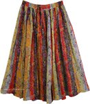 Superb Spring Sunshine Womens Skirt