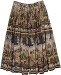 Village Parade Cotton Ethnic Skirt