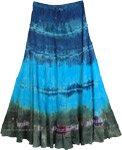 Calypso Tie Dye Layered Skirt