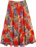 Fiesta Thunderbird Summer Concert Skirt
