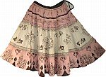 Pink Short Skirt w/ Sequins