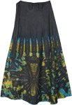 Summer Fireworks Petite Tie Dye Wrap Skirt