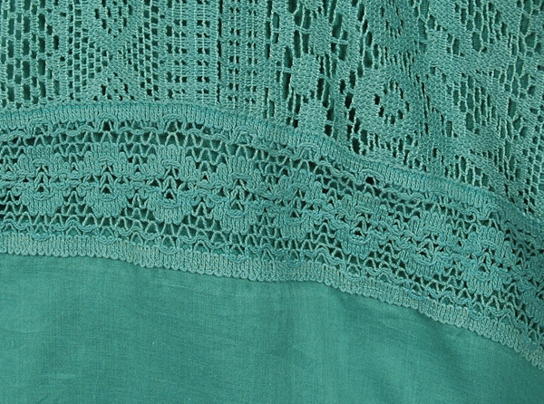 Tradewinds Lace Cotton Long Skirt
