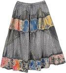 Summer Groove Rainbow Splash Skirt