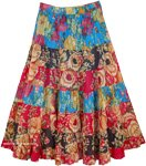 Puerto Rico Cruise Floral Dance Skirt