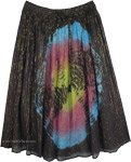 Shooting Stars Tie Dye Tinseled Dream Skirt