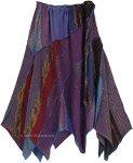 Bohemian Uneven Hem Cotton Light Summer Skirt