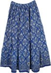 Bay Of Many Summer Printed Cotton Long Skirt
