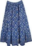 Bay Of Many Summer Printed Cotton Long Skirt
