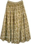 Sycamore Bohemian Full Long Cotton Skirt