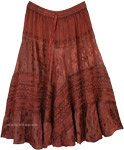 Merlot Wine Renaissance Skirt Costume Look
