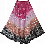 Boho Sequin Dancing Long Skirt