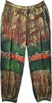Jungle Hippie Rayon Harem Pants Medium Large