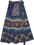 Tribal Africana Inspired Boho Cotton Wrap Skirt
