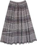 Indo Bohemian Printed Cotton Long Skirt