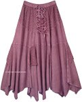 English Lavender Medieval Renaissance Western Chic Skirt