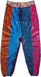 Cosmic Eye Harem Style Pants with Yoga Waist