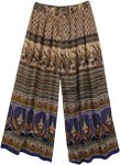 Ethnic Print Free Flowing Street Pants