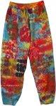 Cotton Womens Patchwork Harem Yoga Pants Festival Clothing