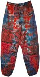 Patchwork Yoga Pants Elephant Print with Harem Style