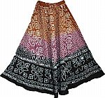 Ethnic Indian Long Dancing Skirt