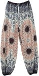 Mystic Paisley Wide Leg Pants with Ankle Elastic