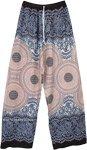 Free Spirit Mandala Printed Wide Leg Boho Pants