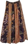 Designer Dori Patchwork Hippie Long Skirt