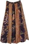 Designer Dori Patchwork Hippie Long Skirt