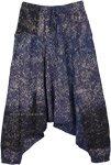 Starry Night Handloom Cotton Batik Harem Pants