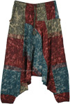 The Four Elements Handloom Cotton Batik Harem Pants