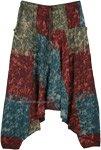 The Four Elements Handloom Cotton Batik Harem Pants
