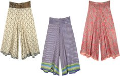 Pleated Wide Leg Trouser - Assorted Pack Of 3