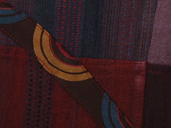 Plum Punch Hippie Lounge Patchwork Cotton Pants