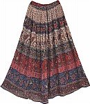 Ethnic Printed Long Skirt