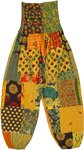 Little Miss Sunshine Patchwork Harem Pants
