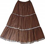 Potters Clay Sequined Long Skirt