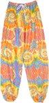 Circus Magic Printed Hippie Harem Pants