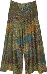 Enchanted Forest Printed Palazzo Pants