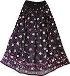 Starry Night Sequin Skirt