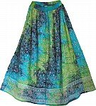 Tropical Sea Shimmering Skirt