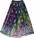 Night Shaded Sequin Skirt