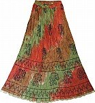 Tahitian Womens Summer Skirt