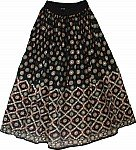 Very Festive Sparkling Long Skirt