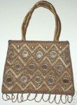 Exquisite Beads Mirrorwork Handmade Evening Purse