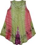 Eclectic Stonewash Swim Cover-Up Dress