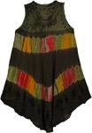 Zeus Tie Dye Cover Up Dress
