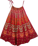 Shiraz Print Cotton Cover Dress