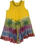 Yellow Palm Beach Coverup